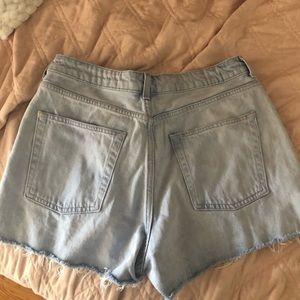 Topshop Shorts - Topshop Mom Shorts